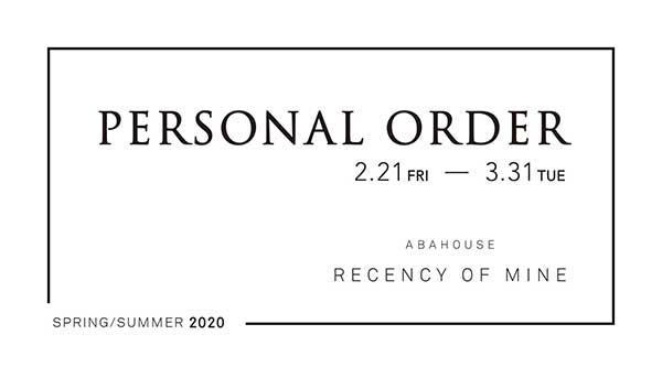 PERDONAL ORDER