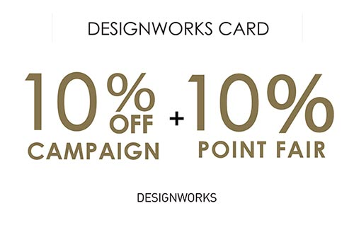 DWcard 10%off 10%point